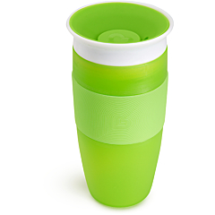 Miracle® 360° Vaso antiderrames - 414 ml (verde)