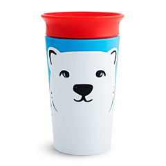 Miracle 360 - Vaso antiderrames, Oso polar, 266 ml
